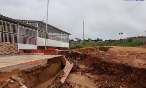 Defesa Civil estadual realiza vistoria nas ruas afetadas pelas chuvas em Óbidos | Portal Obidense