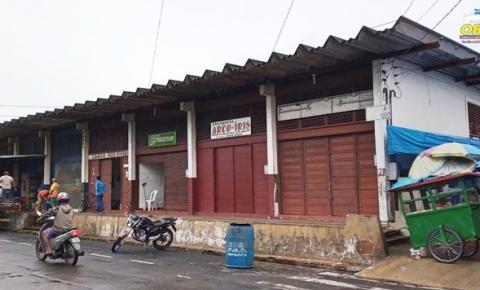 Antigos mercados em Oriximiná darão espaço a novo projeto | Portal Obidense