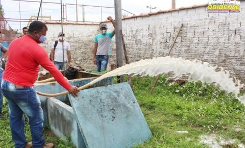 Ações da equipe de infraestrutura na zona rural de Óbidos | Portal Obidense