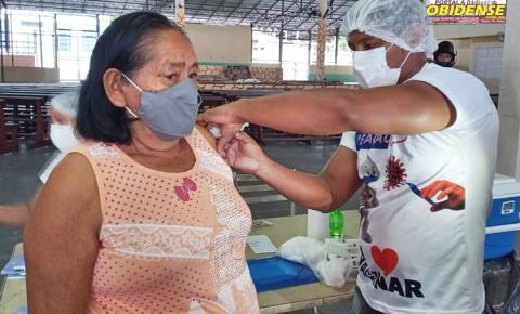 Vacinação contra covid-19 para idosos a partir de 75 anos inicia nesta terça-feira, 2   Portal Obidense