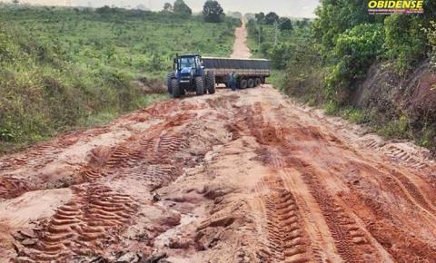 Em Prainha, fazendeiros, produtores e empresários se juntam a prefeitura para trabalhos paliativos na PA 419 e PA 254   Portal Obidense