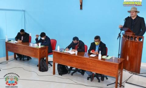 Na CMO, vereadores deliberaram 13 requerimentos e 04 moções | Portal Obidense