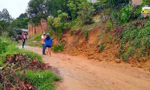 Chuvas provocam deslizamentos em Oriximiná | Portal Obidense