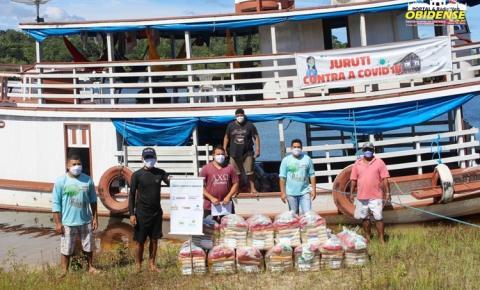 Ações Humanitárias no Rio Mamuru em Juruti chegam a 14 comunidades | Portal Obidense