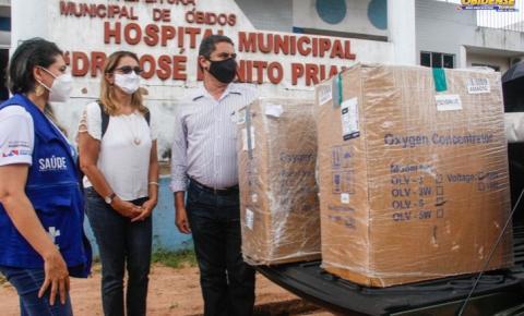 Óbidos mais 4 municípios do Oeste paraense recebem 02 concentradores de oxigênio cada   Portal Obidense