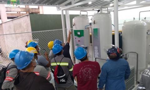 Hospital Nove de Abril na Providência de Deus conclui teste da Usina de Oxigênio   Portal Obidense