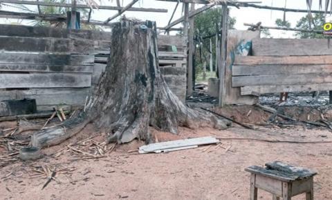Incêndio em residência na comunidade Rio Branquinho | Portal Obidense