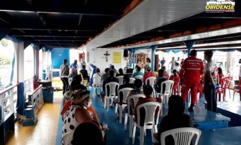Barco Papa Francisco atende comunidade em Prainha, no oeste do Pará | Portal Obidense