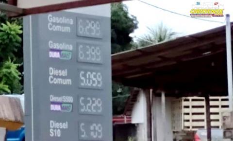 Gasolina em Óbidos passa dos R$ 6,00 reais o litro | Portal Obidense