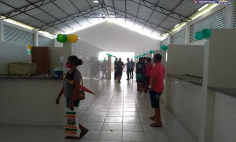 Em Curuá, mercado do Peixe inicia atividade | Portal Obidense