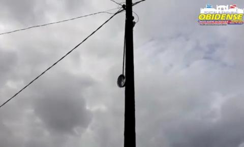 Falta de Iluminação pública em trecho do bairro da Cidade Nova em Óbidos   Portal Obidense
