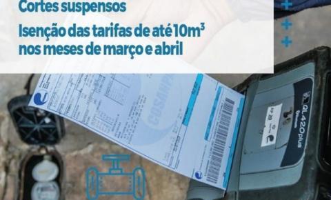 COSAMPA dará descontos nas faturas dos clientes | Portal Obidense