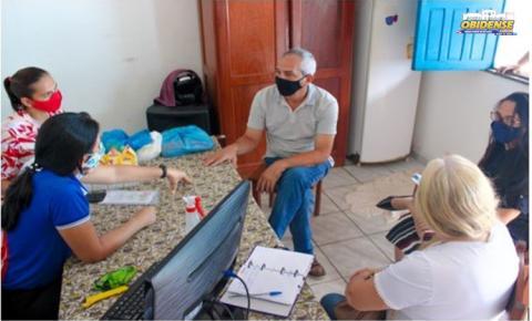 Prefeito visita escola Dom Floriano e Secretaria de Saúde   Portal Obidense