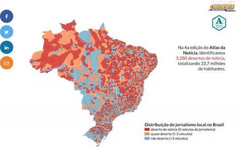 Jornalismo digital reduz abrangência de desertos de notícia | Portal Obidense