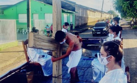 Aconteceu em Óbidos a tradicional Via Sacra de um jeito bem diferente | Portal Obidense