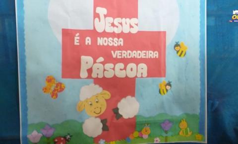Escola Frei Edmundo realiza live de Páscoa   Portal Obidense