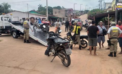 Três motocicletas se chocam em Óbidos | Portal Obidense