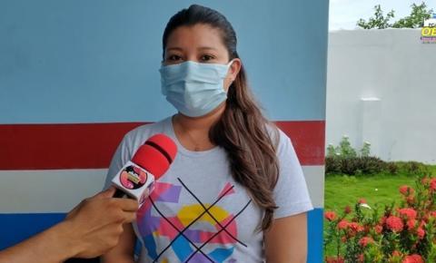 Enfermeira Adriana Mousinho, fala sobre a visita da 9° regional de Santarém a SESPA | Portal Obidense