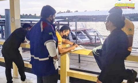 Embarcações e veículos que atuam no transporte intermunicipal, são obrigados a higienizar bancos, pisos e corrimãos | Portal Obidense