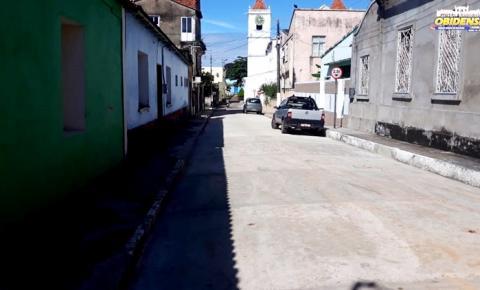 Conclusão da rua Osvaldo Cruz em Óbidos | Portal Obidense