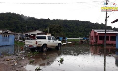 Além da cheia, o banzeiro perturba moradores das margens do lago Pauxis | Portal Obidense