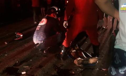 Colisão entre motos, deixa dois mortos e um gravemente ferido em Oriximiná | Portal Obidense