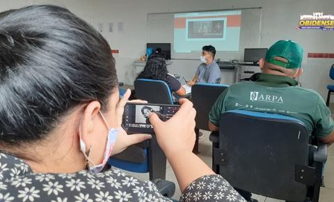 Em Oriximiná, oficina aborda técnicas de fotografia e vídeo em dispositivos móveis   Portal Obidense