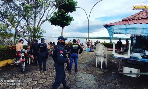 Órgãos de segurança realizam ação de fiscalização em balneário e bares em Oriximiná | Portal Obidense