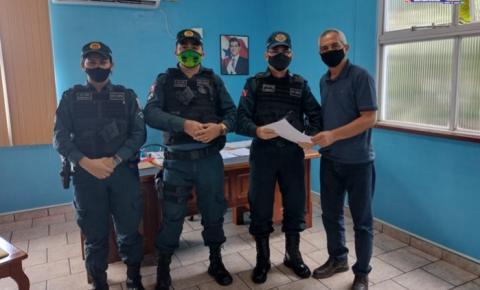 Prefeitura de Óbidos e Polícia Militar firmam parceria para melhorar a segurança da população   Portal Obidense