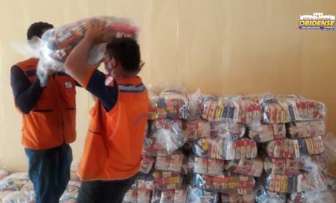 Óbidos recebe 700 cestas básicas destinadas as famílias atingidas pelas fortes chuvas   Portal Obidense