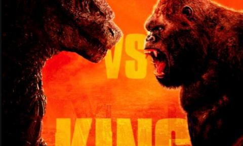 Shopping Metrô Tucuruvi apresenta o confronto histórico Godzilla VS Kong na programação da Cinemark de maio