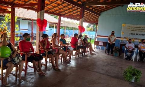 Equipe itinerante da SEMDES realizou atendimentos no Distrito do Flexal   Portal Obidense