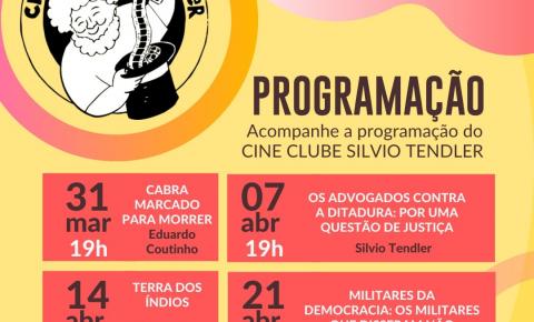 'Cabra Marcado Para Morrer' inaugura Cine Clube Silvio Tendler
