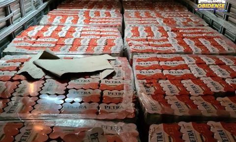 Sefa apreende 45 mil garrafas de cachaça com notas frias | Portal Obidense
