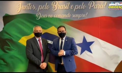 Prefeito de Óbidos vai até Brasília em busca de benefícios para o Município   Portal Obidense