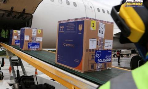 Pará recebe mais de 80 mil doses de vacina da Pfizer, na tarde de terça-feira (8)   Portal Obidense