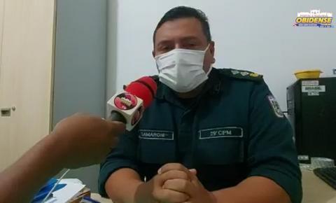 Major Samarone, fala sobre ação da PM em cumprimento do novo decreto   Portal Obidense