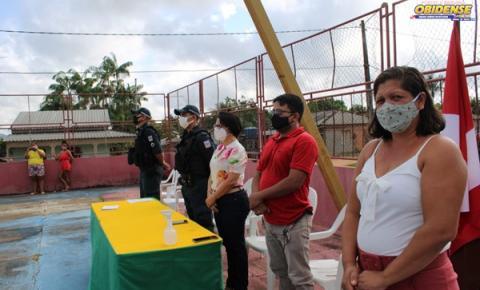 Jovens da zona rural de Óbidos recebem certificado de dispensa militar | Portal Obidense