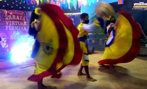 Aconteceu em Óbidos o arraiá virtual da Firmina na Roça | Portal Obidense