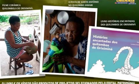 Produtos culturais dos quilombos de Oriximiná serão lançados em evento dia 29 de junho | Portal Obidense