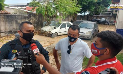 Homem é preso acusado de assalto no município de Óbidos   Portal Obidense