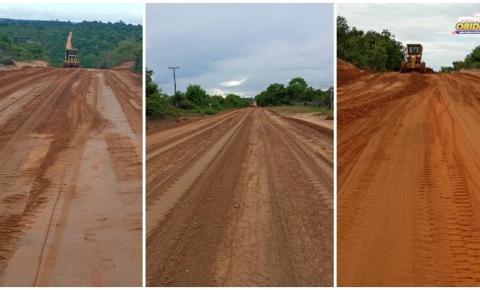 Estrada que dá acesso as comunidades Sucuriju, Arapucu e Curumu, recebe serviço de manutenção | Portal Obidense