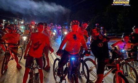 Ciclistas organizados de Óbidos participam do Círio de Sant´Ana   Portal Obidense