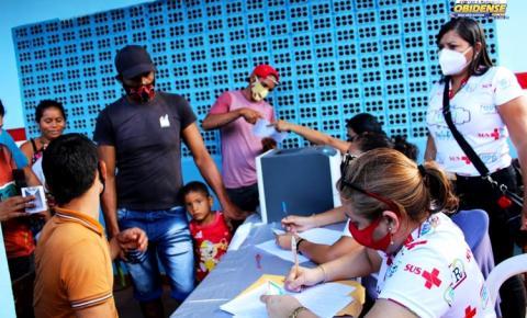 Prefeitura de Óbidos leva serviços e atendimentos até a comunidade Igarapé-Açu | Portal Obidense