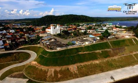 Prefeito de Óbidos afirma a inexistência do sistema de iluminação no projeto Orla | Portal Obidense