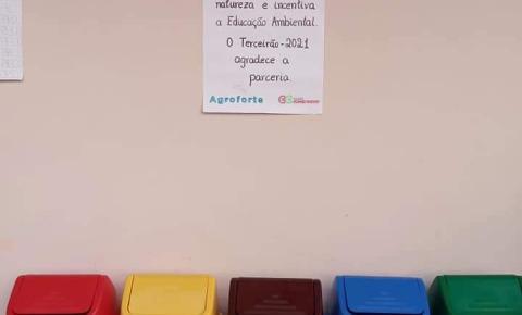 Agroforte incentiva a educação ambiental nas escolas