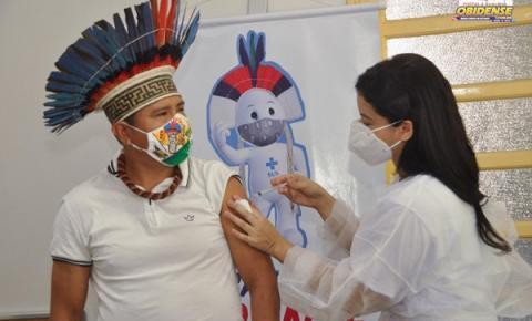 Sespa celebra dia dos povos indígenas   Portal Obidense