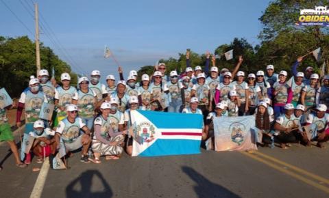 Mais de 50 pessoas participam da caminhada de fé, Óbidos, Oriximiná | Portal Obidense