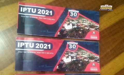 Prefeitura de Óbidos realiza lançamento do IPTU ano 2021   Portal Obidense