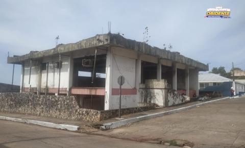 Reforma no antigo prédio do BanPará em Óbidos   Portal Obidense
